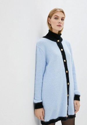Кардиган Chiara Ferragni Collection. Цвет: голубой