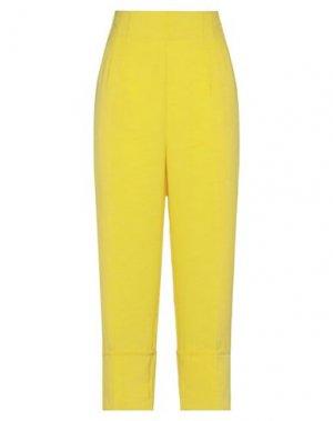 Повседневные брюки ALVIERO MARTINI 1a CLASSE. Цвет: желтый