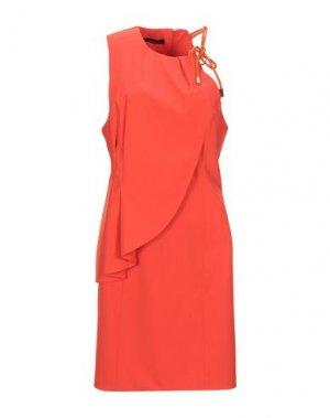 Короткое платье ANNARITA N. Цвет: оранжевый