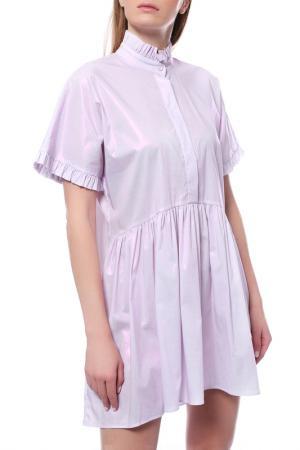 Платье JIJIL. Цвет: розовый