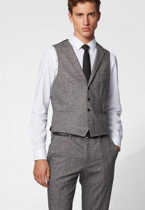 Жилет Boss Novan6 Vest. Цвет: серый