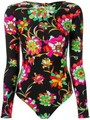 Пляжный костюм La Doublej. Цвет: черный