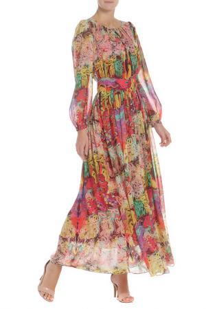 Платье Evita. Цвет: multicolor, многоцветный