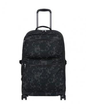 Чемодан/сумка на колесиках KIPLING. Цвет: стальной серый