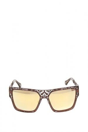 Очки солнцезащитные с линзами Vivienne Westwood. Цвет: 06 бронзовый