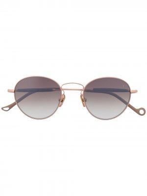 Солнцезащитные очки в круглой оправе Eyepetizer. Цвет: нейтральные цвета