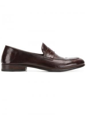 Classic slip-on loafers Alberto Fasciani