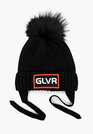 Шапка Gulliver. Цвет: черный