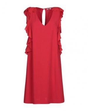 Короткое платье BEATRICE. Цвет: красный