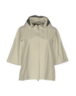 Куртка HERNO. Цвет: светло-серый