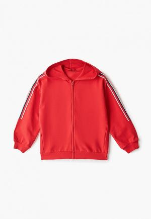 Толстовка United Colors of Benetton. Цвет: красный