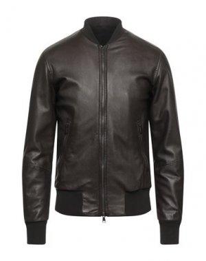 Куртка 10SEI0OTTO. Цвет: темно-коричневый