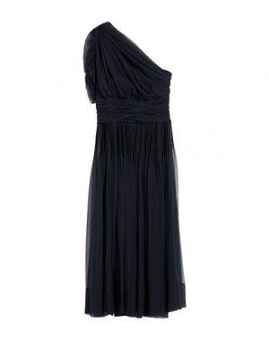 Платье до колена N°21. Цвет: темно-синий