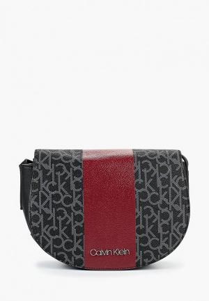 Сумка Calvin Klein Jeans CA939BWBTKK6. Цвет: черный