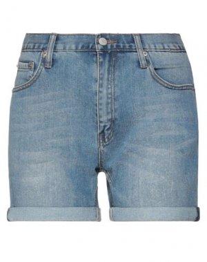 Джинсовые шорты CHEAP MONDAY. Цвет: синий