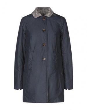Пальто GEOSPIRIT. Цвет: синий