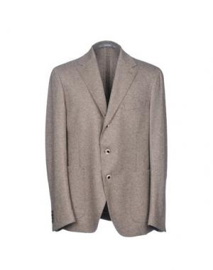 Пиджак CANTARELLI JERSEY PLANET. Цвет: хаки
