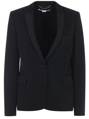 Классический пиджак из шерсти STELLA MCCARTNEY