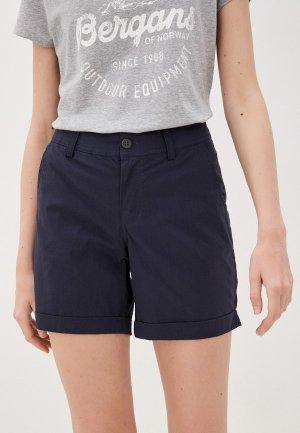 Шорты Bergans of Norway Oslo W Shorts. Цвет: синий