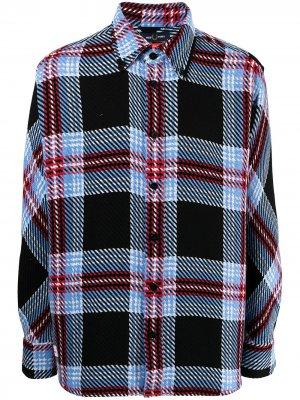 Куртка-рубашка Charles Jeffery в клетку тартан FRED PERRY. Цвет: разноцветный