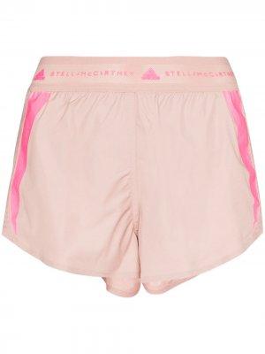 Шорты для бега adidas by Stella McCartney. Цвет: розовый
