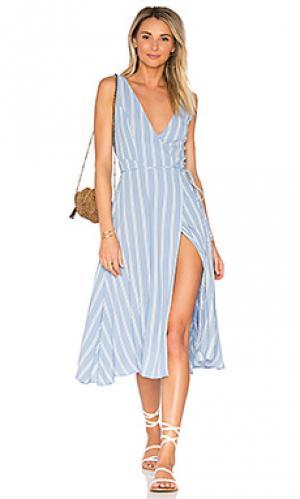 Платье wilson Privacy Please. Цвет: нежно-голубой