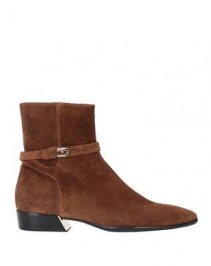 Полусапоги и высокие ботинки FURLA. Цвет: коричневый