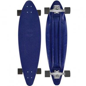 Комплект лонгборд Longboard Penny. Цвет: темно-синий