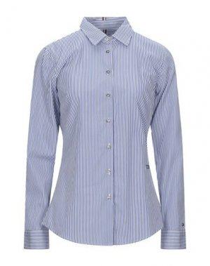 Pубашка TOMMY HILFIGER. Цвет: синий