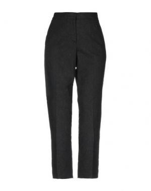 Повседневные брюки AQUILANO-RIMONDI. Цвет: стальной серый