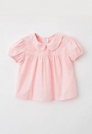 Блуза Ete Children. Цвет: розовый