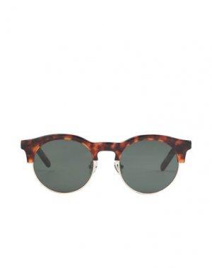 Солнечные очки HAN KJØBENHAVN. Цвет: коричневый