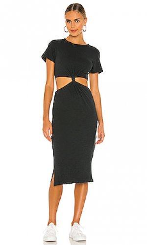 Платье rowan LNA. Цвет: черный