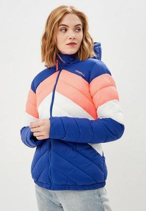 Куртка утепленная O`Neill PW TRANSIT TOURING JACKET. Цвет: разноцветный