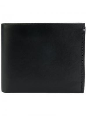Классический бумажник Troubadour. Цвет: черный