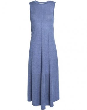 Платье длиной 3/4 AUTUMN CASHMERE. Цвет: грифельно-синий