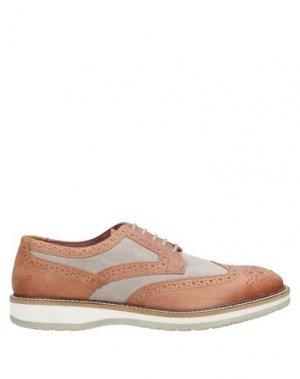 Обувь на шнурках MFW COLLECTION. Цвет: желто-коричневый