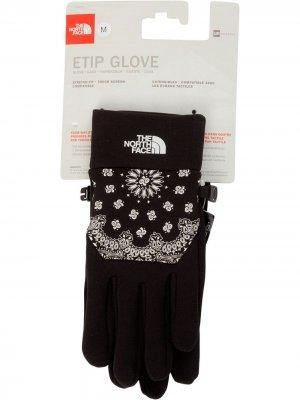 Перчатки TNF Etip Supreme. Цвет: черный