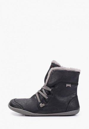 Ботинки Camper Peu Cami. Цвет: черный