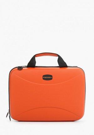 Чехол для ноутбука Fedon 1919 13. Цвет: оранжевый