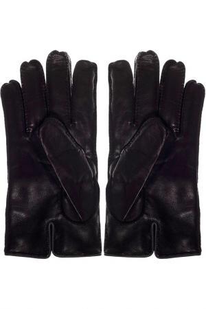 Перчатки Zegna. Цвет: черный