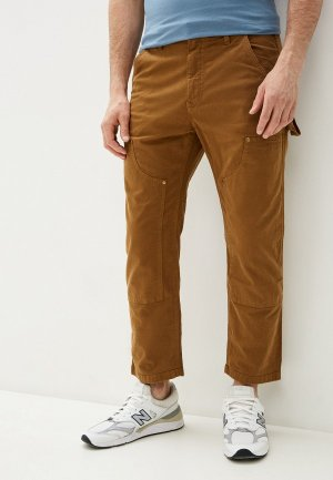 Брюки Gap. Цвет: коричневый