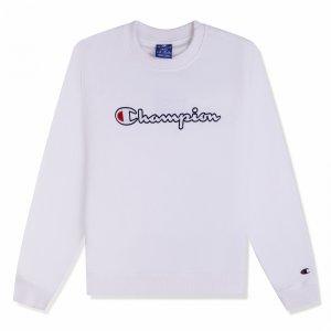 Crewneck Sweatshirt Champion. Цвет: белый