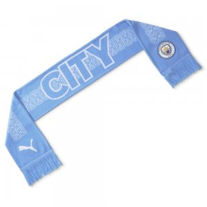 Шарф Man City ftblCULTURE Football Fan Scarf PUMA. Цвет: синий