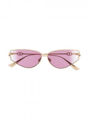 Солнцезащитные очки Gipsy 2 с логотипом Dior Eyewear. Цвет: золотистый