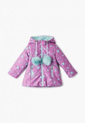 Куртка утепленная АксАрт. Цвет: розовый