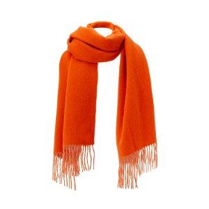 Шарф La Redoute. Цвет: оранжевый
