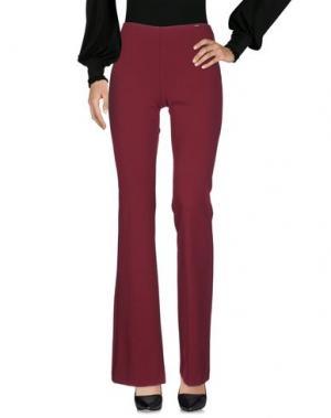 Повседневные брюки CANNELLA. Цвет: пурпурный
