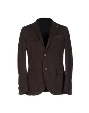 Пиджак ALV ANDARE LONTANO VIAGGIANDO. Цвет: темно-коричневый