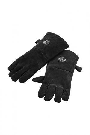 Перчатки для гриля, кожа GEFU. Цвет: черный